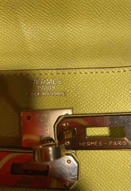 Item - Kelly Very Nice. Used Only 3 Lime Green Leather Satchel