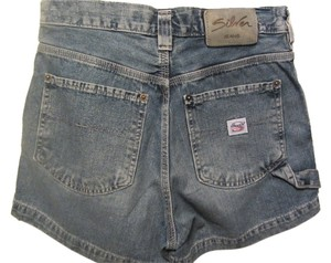 Silver Jeans Co. Mini/Short Shorts blue denim