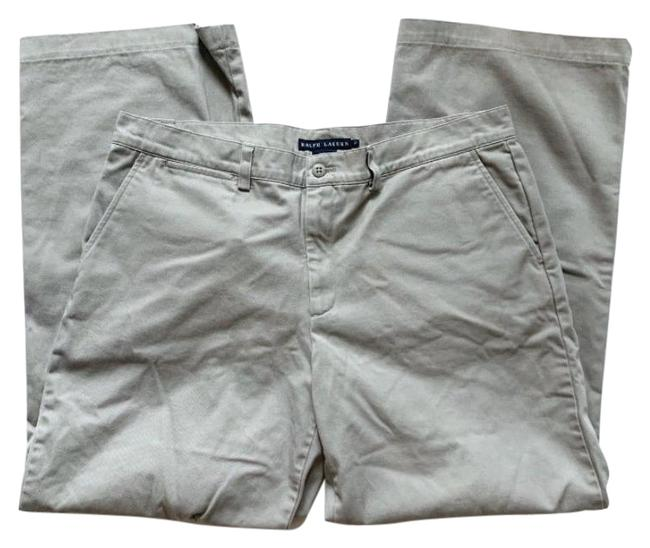 Item - Grey High Waisted Classic Trousers Pants Size 12 (L, 32, 33)