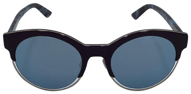 Item - Black and Blue Sideral1 Sunglasses