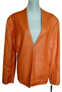 Jones New York Of Orange Blazer