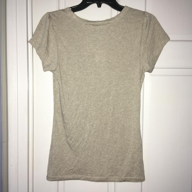 Banana Republic Lace Trim Top tan Image 2