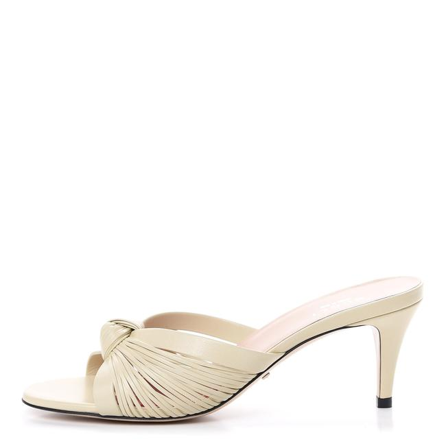 Item - Off-white Crawford Leather Knot Slide It Sandals Size EU 40 (Approx. US 10) Regular (M, B)