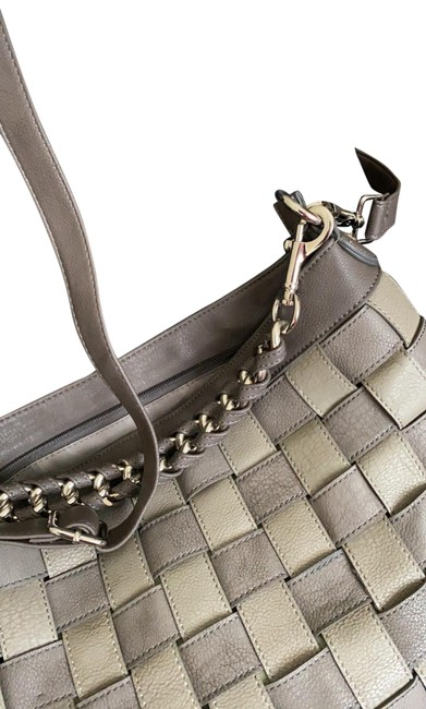 Item - Great Gray Faux Leather Hobo Bag
