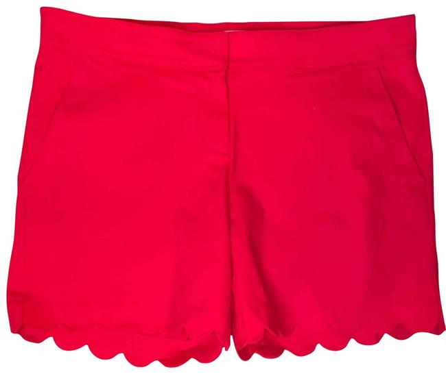 Item - Red Scallop Shorts Size 16 (XL, Plus 0x)