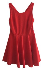 Double Zero short dress Red on Tradesy