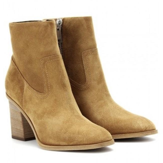 Item - Camel Hunting Suede Short Ankle Boots/Booties Size EU 37.5 (Approx. US 7.5) Regular (M, B)