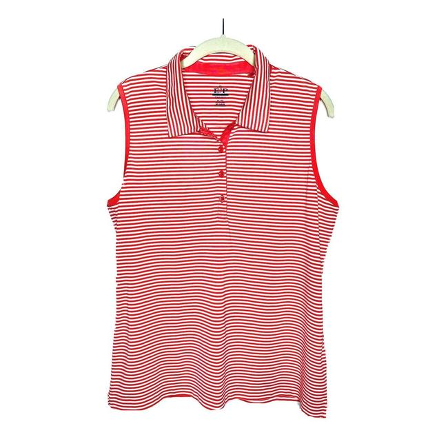 Item - Red XL Golf Pink Polo Shirt Activewear Top Size 22 (Plus 2x)