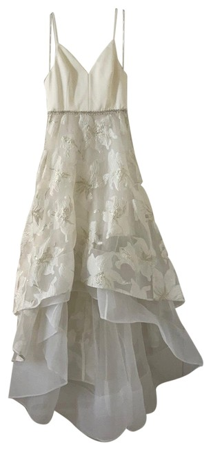 Item - White Gold Alexia Gown Formal Dress Size 4 (S)