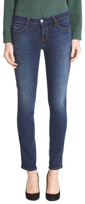 Item - Blue Coco Mid-rise Straight Skinny Jeans Size 27 (4, S)