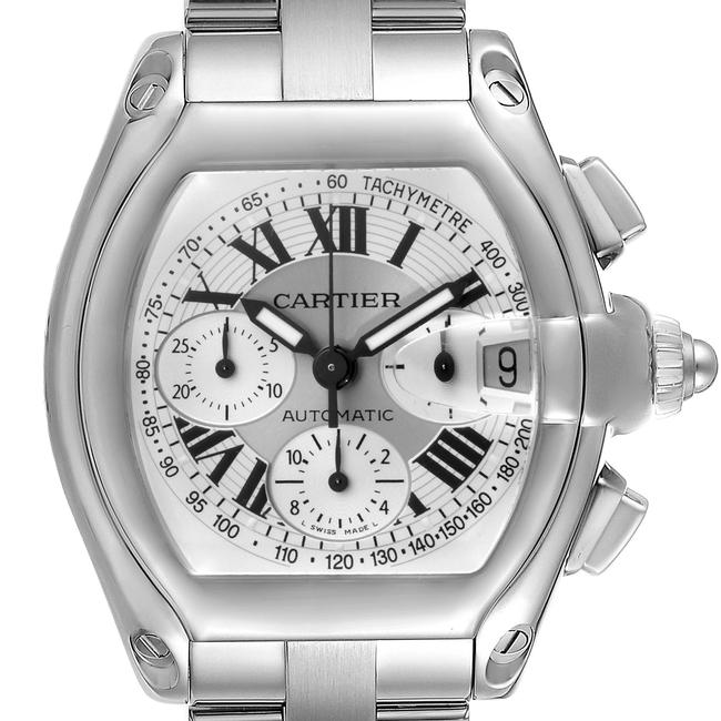 Item - Silver Box Roadster Dial Chronograph Steel W62006x6 Watch