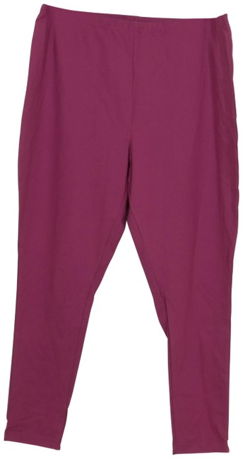 Item - Orchid Purple New Ankle Length Essential Stretch 2x Leggings Size 22 (Plus 2x)