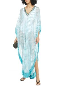 Turquoise Maxi Dress by Missoni