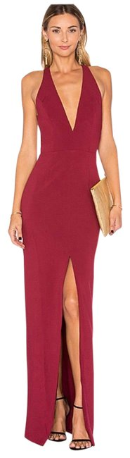 Item - Red Aries Long Cocktail Dress Size 4 (S)