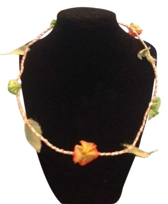 Item - Multicolor Flowered Crown Hair Accessory