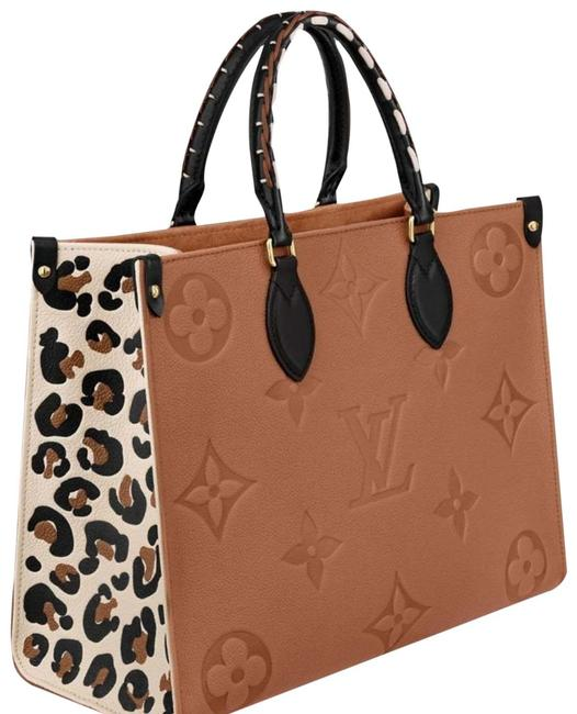 Item - Onthego Wild At Heart On The Go Mm Jungle Capsule Limited Ed Caramel Empreinte Leather Tote