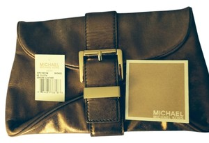 Michael Kors Bronze Clutch