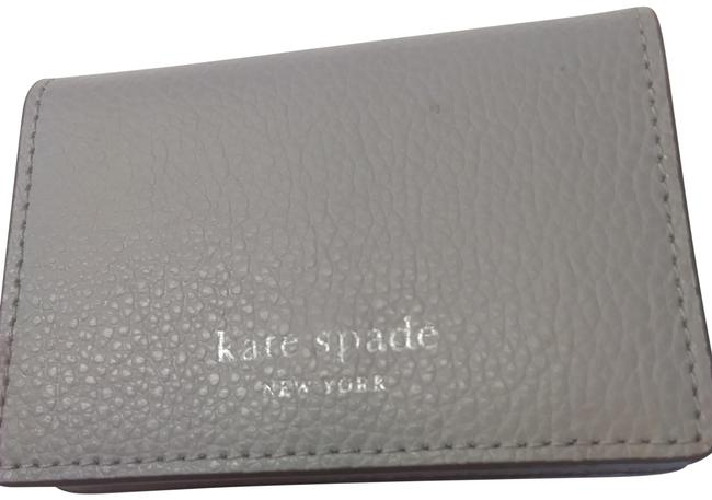 Item - Gray New and Burgundy Micro Tri-fold Wallet