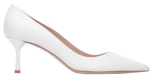 Item - White Pointed-toe Pumps Size EU 40 (Approx. US 10) Regular (M, B)