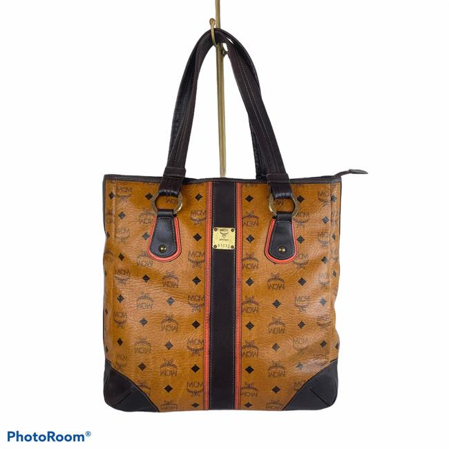 Item - Bag Shopper Brown Leather Tote