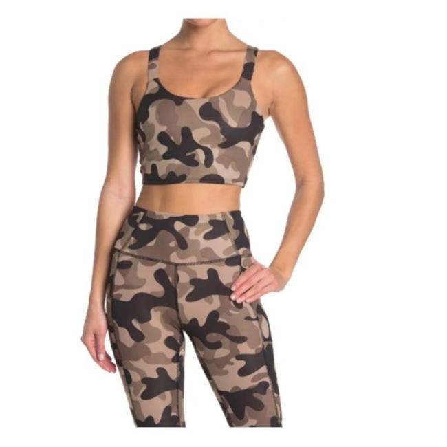 Item - Cocoa X By Tank Camo Activewear Sports Bra Size 6 (S, 28)