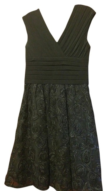 Preload https://img-static.tradesy.com/item/2935771/adrianna-papell-black-knee-length-cocktail-dress-size-12-l-0-0-650-650.jpg