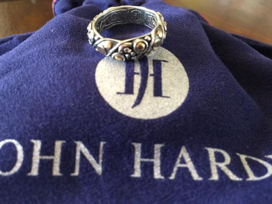 John Hardy John Hardy Jaisalmer Dot Twist Band Ring