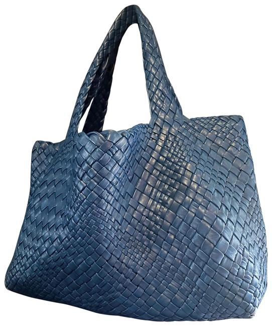 Item - Blue Tote Bag Woven