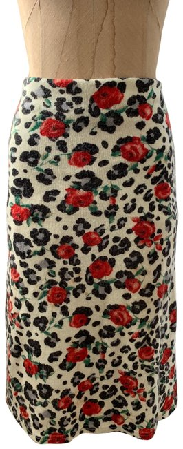 Item - Multicolored Pencil Rose Pattered Skirt Size 6 (S, 28)