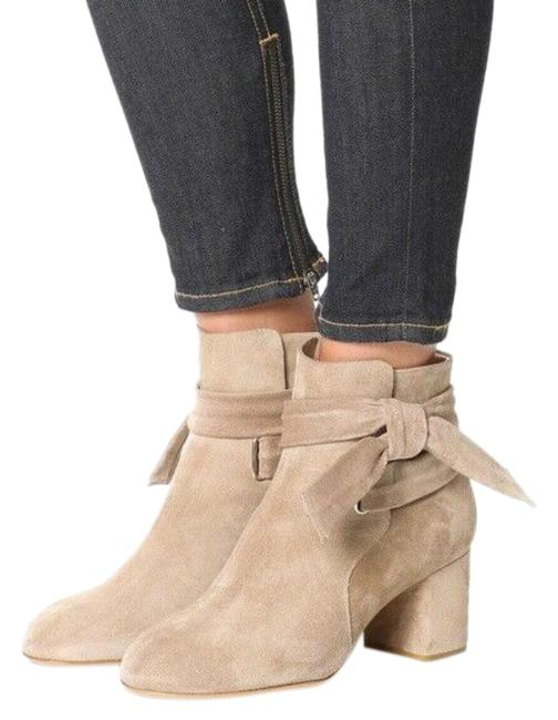 Item - Beige And Boots/Booties Size EU 38 (Approx. US 8) Regular (M, B)