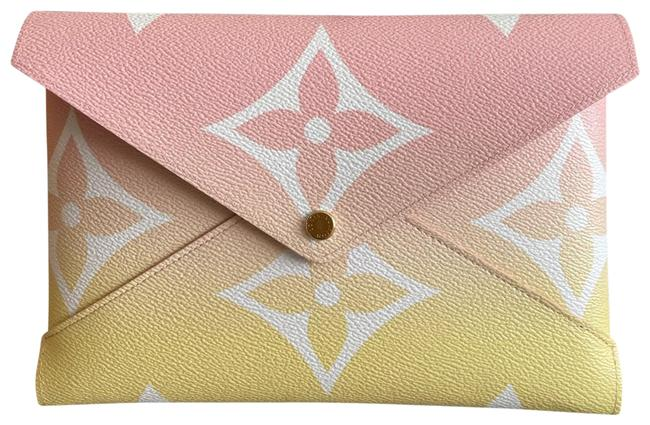 Item - Multicolor Pochette Kirigami New Large By The Pool For Ipad Lipstick Checkbook