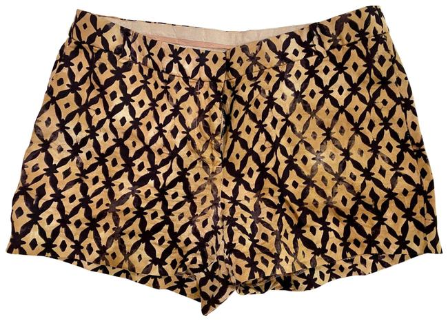 Item - Dark Purple and Gold Shorts Size 4 (S, 27)