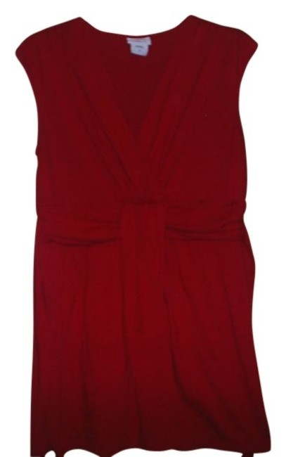 Preload https://item3.tradesy.com/images/motherhood-maternity-red-sleeveless-maternity-tunic-size-6-s-28-29362-0-0.jpg?width=400&height=650