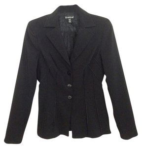bebe Flattering Fitted Black Jacket