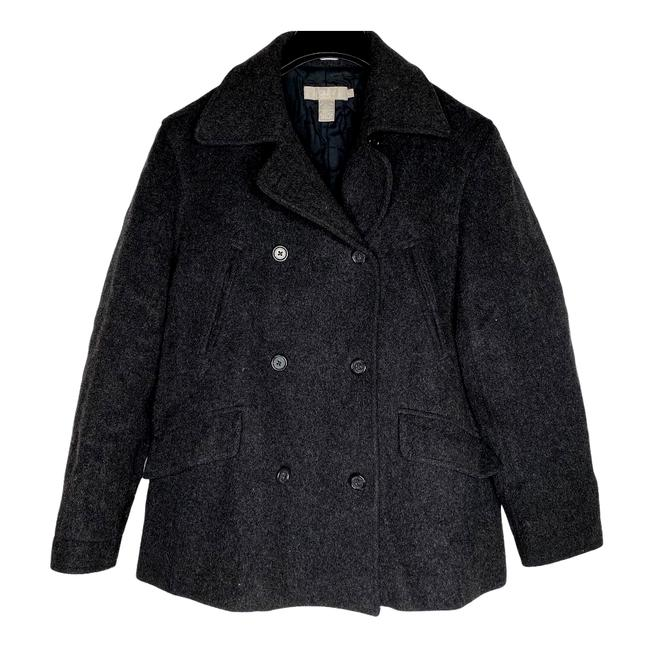 Item - Gray Charcoal Wool Cashmere Blend S Coat Size 4 (S)