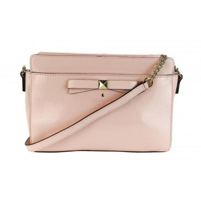 Item - Beacon Court Angelica Baby Pink Patent Leather Cross Body Bag