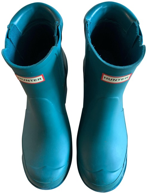 Item - Blue Ankle Boots/Booties Size EU 38 (Approx. US 8) Regular (M, B)