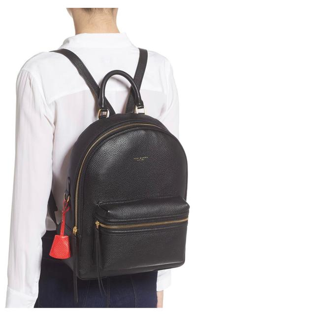 Item - Perry Black Leather Backpack