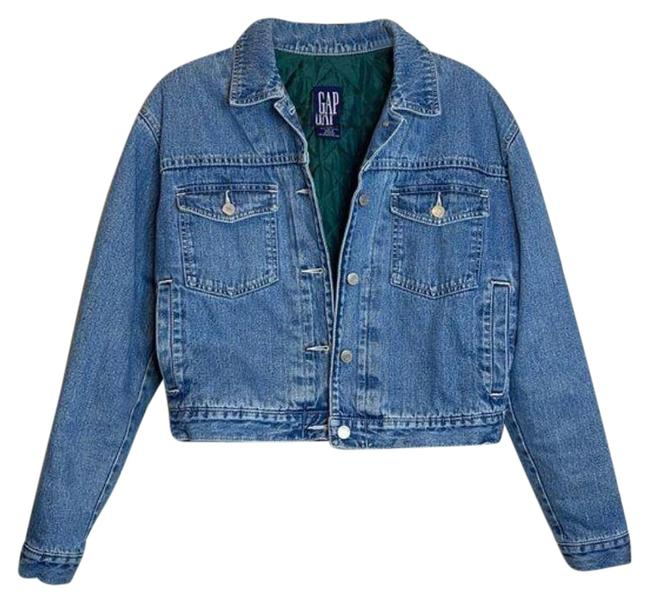 Item - Blue Green Small Lined Vintage Jean Jacket Size 4 (S)