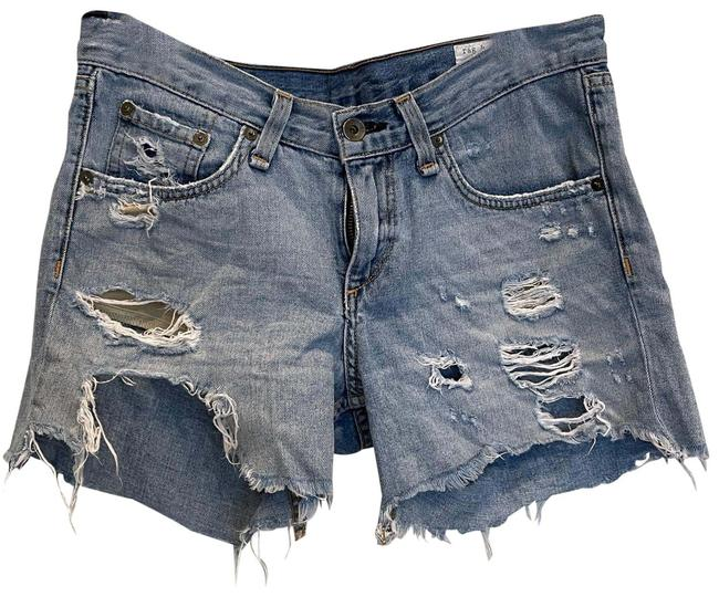 Item - Blue Coated And Capri/Cropped Jeans Size 00 (XXS, 24)