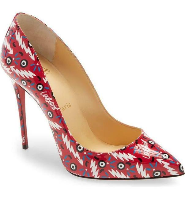 Christian Louboutin Multicolor Pigalle Follies 100 Patent Leather Ginzana Pumps Size EU 38 (Approx. US 8) Regular (M, B) Christian Louboutin Multicolor Pigalle Follies 100 Patent Leather Ginzana Pumps Size EU 38 (Approx. US 8) Regular (M, B) Image 2