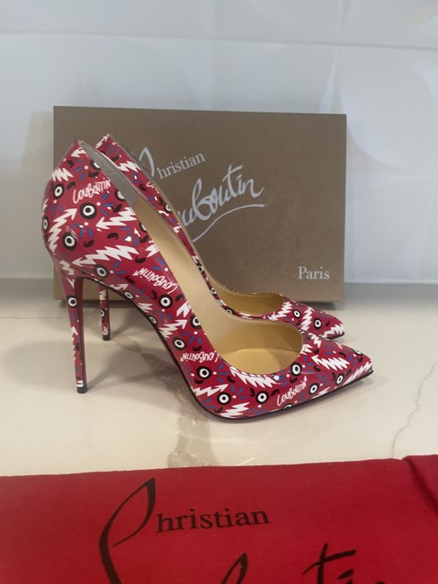 Christian Louboutin Multicolor Pigalle Follies 100 Patent Leather Ginzana Pumps Size EU 38 (Approx. US 8) Regular (M, B) Christian Louboutin Multicolor Pigalle Follies 100 Patent Leather Ginzana Pumps Size EU 38 (Approx. US 8) Regular (M, B) Image 9