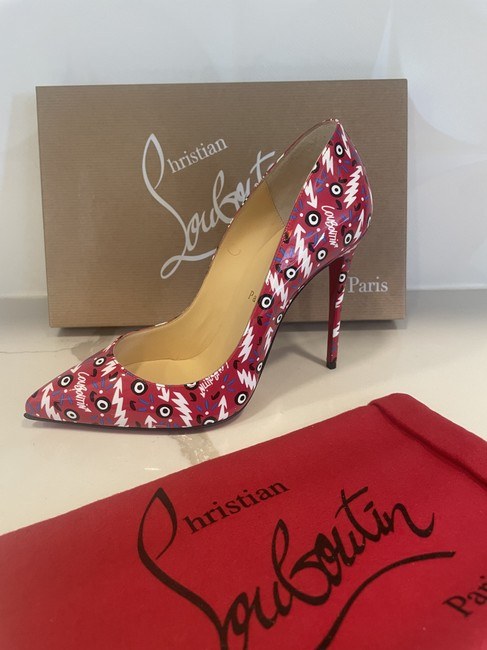 Christian Louboutin Multicolor Pigalle Follies 100 Patent Leather Ginzana Pumps Size EU 38 (Approx. US 8) Regular (M, B) Christian Louboutin Multicolor Pigalle Follies 100 Patent Leather Ginzana Pumps Size EU 38 (Approx. US 8) Regular (M, B) Image 10