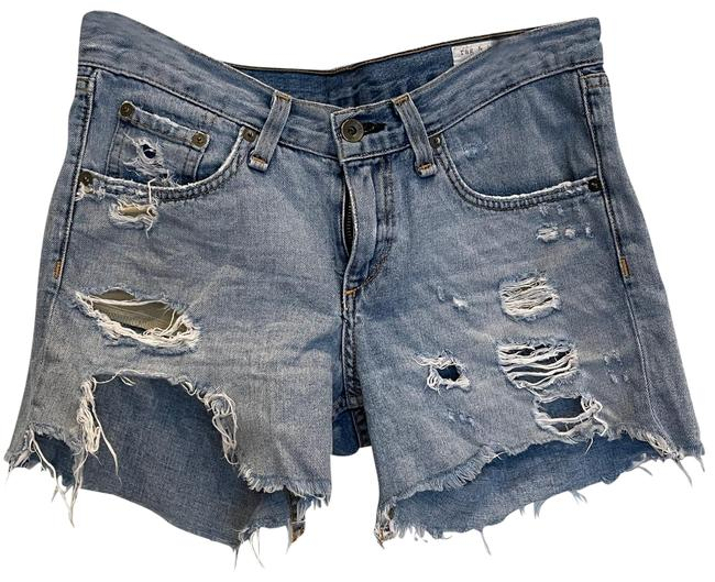 Item - Blue Light Wash And Capri/Cropped Jeans Size 0 (XS, 25)