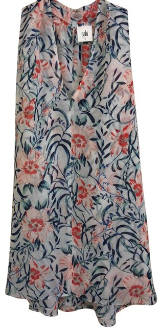 Item - Floral Style# 5537- Rn#54077 Blouse Size 6 (S)