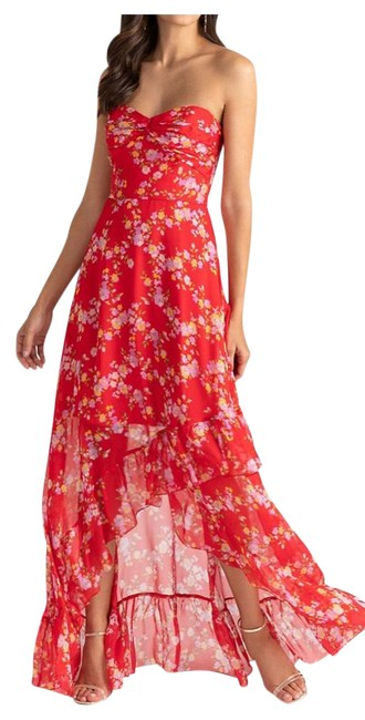 Item - Red 5740883 Long Night Out Dress Size 0 (XS)