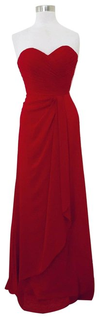 Item - Red Couture High Fashion Short Casual Dress Size 6 (S)