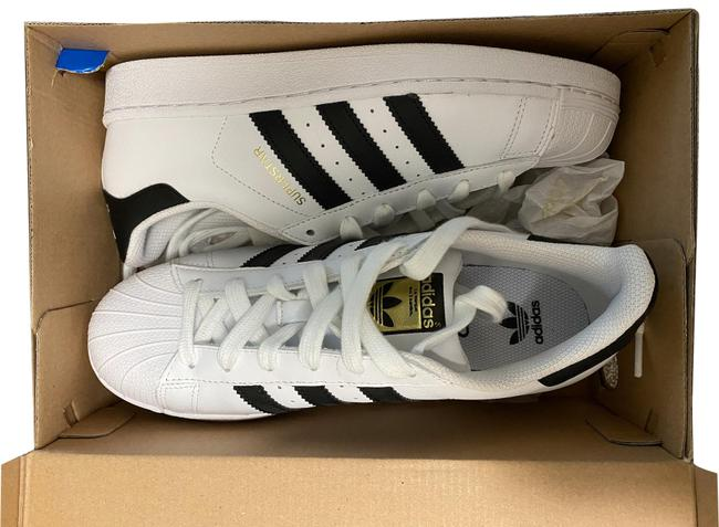 Item - White New with Tags Superstar Sneakers Size US 6.5 Regular (M, B)