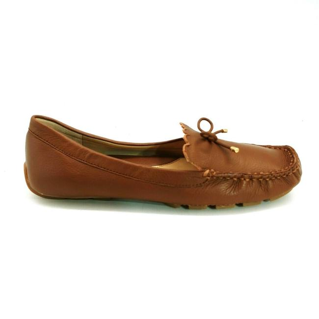 Item - Brown Womans Scalloped Driving Moccasin Flats Size US 8.5 Regular (M, B)