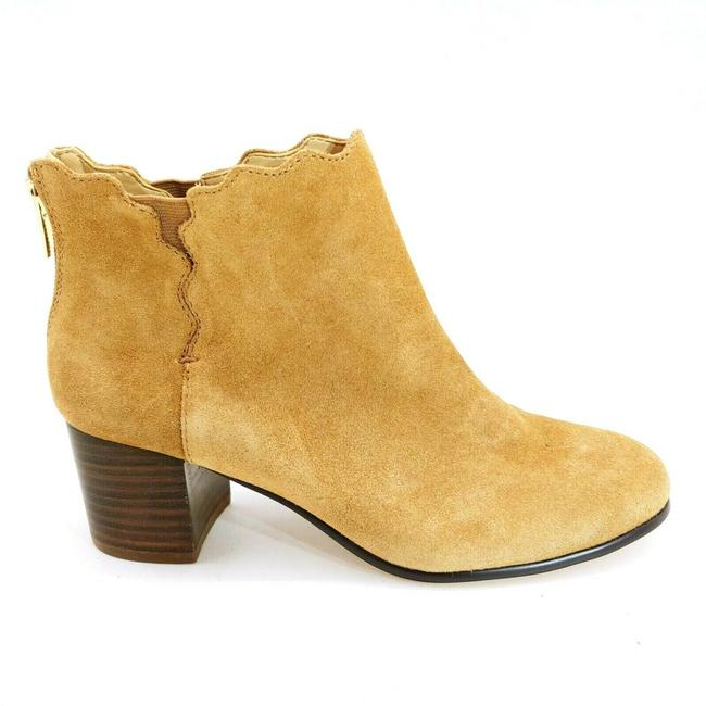 Item - Brown Womans Stack Heel Ankle Boots/Booties Size US 6 Regular (M, B)